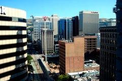 Arranha-céus de Salt Lake City Imagens de Stock Royalty Free