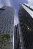 Arranha-céus de Seoul Fotos de Stock Royalty Free