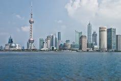 Arranha-céus de Shanghai Lujiazui CBD Imagem de Stock Royalty Free