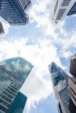 Arranha-céus de Singapura Imagens de Stock Royalty Free