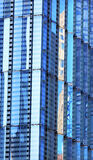 Arranha-céus de vidro Reflec da construção do sumário novo do World Trade Center Fotos de Stock Royalty Free
