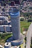 Arranha-céus de Vodacom Vodafone Ponte Imagem de Stock Royalty Free