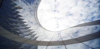 Arranha-céus do negócio Imagem de Stock Royalty Free