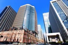 Arranha-céus do Tóquio, Japão Imagem de Stock