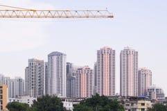 Arranha-céus e construção Foto de Stock