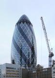 Arranha-céus e construção Imagem de Stock