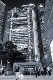 Arranha-céus e MTR em Hong Kong imagens de stock royalty free