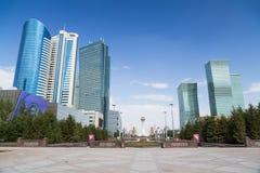 Arranha-céus em Astana, Cazaquistão Foto de Stock