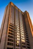 Arranha-céus em Baltimore do centro, Maryland imagens de stock royalty free