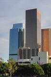 Arranha-céus em Los Angeles da baixa foto de stock
