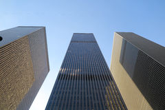 Arranha-céus em Manhattan, New York fotos de stock
