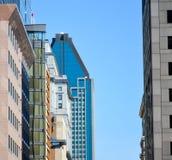 Arranha-céus em Montreal fotos de stock
