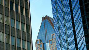 Arranha-céus em Montreal Fotos de Stock Royalty Free