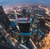 Arranha-céus em Moscovo Fotos de Stock