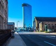 Arranha-céus em Nashville Tennessee foto de stock