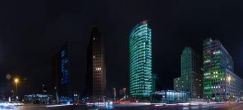 Arranha-céus em Potsdamer Platz Imagens de Stock