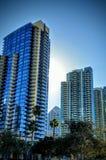 Arranha-céus em San Diego California imagem de stock royalty free