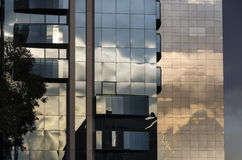 Arranha-céus em Sao Paulo Fotos de Stock Royalty Free