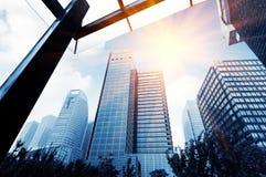 Arranha-céus em Shanghai, China Imagem de Stock Royalty Free