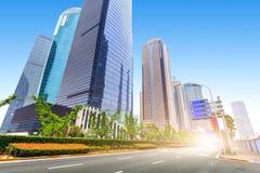 Arranha-céus em Shanghai, China Fotografia de Stock