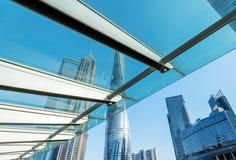Arranha-céus em Shanghai, China Foto de Stock Royalty Free
