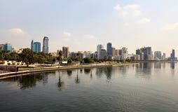 Arranha-céus em Sharjah. Foto de Stock