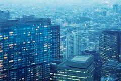 Arranha-céus em tokyo Fotografia de Stock Royalty Free