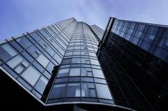 Arranha-céus financeiro Fotos de Stock Royalty Free