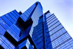 Arranha-céus futurista do edifício Foto de Stock Royalty Free