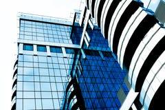 Arranha-céus futuristas Fotografia de Stock Royalty Free