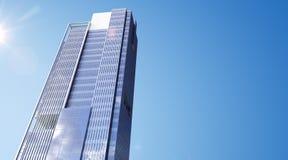 Arranha-céus moderno Fotografia de Stock