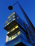 Arranha-céus moderno em Manchester, Reino Unido Imagem de Stock