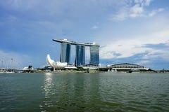 Arranha-céus moderno sob a construção Imagens de Stock