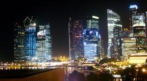 Arranha-céus moderno sob a construção Foto de Stock