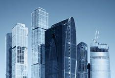 Arranha-céus modernos Imagens de Stock