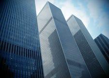 Arranha-céus modernos Foto de Stock Royalty Free