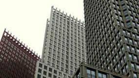 3 arranha-céus modernos Fotografia de Stock
