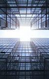 Arranha-céus modernos Foto de Stock