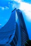 Arranha-céus modernos comuns imagens de stock royalty free