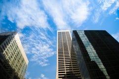 Arranha-céus modernos da cidade Foto de Stock Royalty Free
