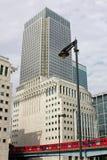 Arranha-céus modernos de Londres Fotografia de Stock Royalty Free
