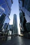 Arranha-céus modernos do negócio Imagens de Stock Royalty Free