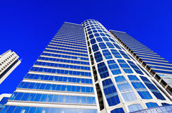 Arranha-céus modernos elevados Fotografia de Stock