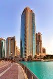Arranha-céus modernos em Dubai Imagem de Stock Royalty Free