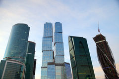 Arranha-céus modernos MIBC Fotografia de Stock Royalty Free
