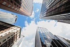 Arranha-céus New York City fotos de stock