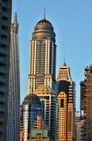 Arranha-céus no porto de Dubai Imagem de Stock Royalty Free