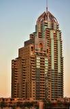 Arranha-céus no porto de Dubai Imagens de Stock