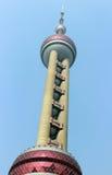 Arranha-céus orientais da torre da pérola, SHANGHAI, CHINA Foto de Stock