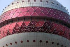 Arranha-céus orientais da torre da pérola, SHANGHAI, CHINA Fotos de Stock